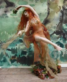 Maenad, a woman participant in the orgiastic rites of Dionysus; a frenzied woman