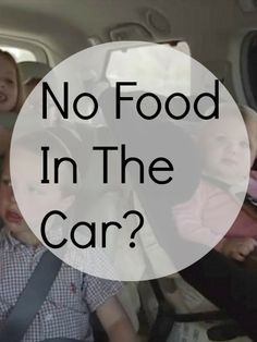 Do you allow food in the car?