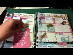 Page Pockets for Erin Condren Life Planner - YouTube #eclifeplanner #fabfans