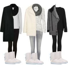 Inspired outfits with pearl white ugg boots. by thecalderlookbook on Polyvore featuring Topshop, Alice + Olivia, MANGO, IRO, River Island and UGG Australia