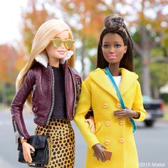 """59.5k Likes, 529 Comments - Barbie® (@barbiestyle) on Instagram: """"Stepping out in this season's styles, leave a 💛 below if you love our looks! 💯 #barbie #barbiestyle"""""""