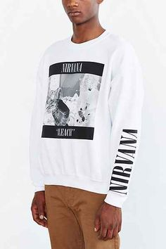 Nirvana 90s Sweatshirt - Urban Outfitters