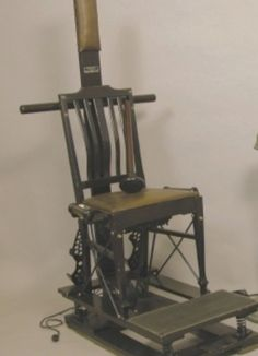 Battle Creek Vibratory Chair by the Sanitarium and Hospital Equipment Co., Massage Vibrator by the Battle Creek Equipment Co.
