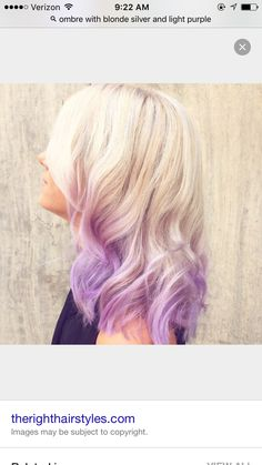 Blonde dyed tips pink hair short hair wavy hair do it yourself blonde to light purple solutioingenieria Images
