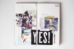 RV Trip Traveler's Notebook Spread by AllisonWaken at @studio_calico