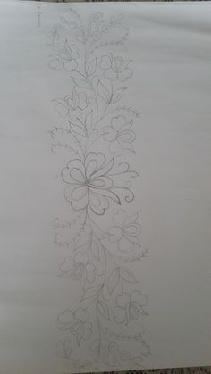 Zardozi Embroidery, Couture Embroidery, Embroidery Motifs, Peacock Embroidery Designs, Embroidery Flowers Pattern, Brazilian Embroidery Stitches, Wreath Drawing, Pencil Design, Butterfly Design