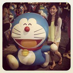 Doraemon! ✌ #cute #doraemon #tst #hongkong #hkig #852 #dingdong  - @daniellechau- #webstagram