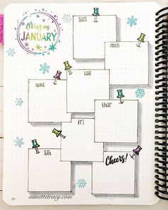 January Layout in my from Catherine Pooler with - Voleta P. January Layout in my from Catherine Pooler with - Voleta P. bullet journal January Layout in my from Catherine Pooler with - Sayira G. January Layout in my @ Bullet Journal School, Bullet Journal 2019, Bullet Journal Notebook, Bullet Journal Spread, Bullet Journal Ideas Pages, Bullet Journal Layout, Bullet Journal Inspiration, Bullet Journal Vacation, Bullet Journal Savings