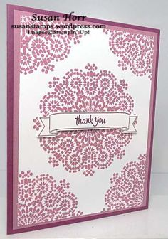 Moroccan Nights, Thoughtful Banners, Duet Banners, Stampin Up, susanstamps.wordpress.com