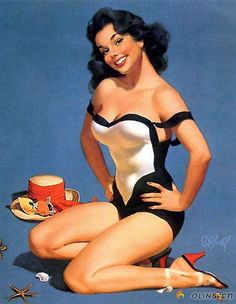 My dream...be a pinup