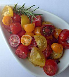 Heirloom Tomato Salad with Rosemary #IMadeIt #MyAllrecipes #AllrecipesAllstars