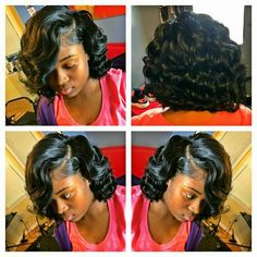 Bob Hairstyles – The Great Look Through The Years – Stylish Hairstyles Hot Hair Styles, Curly Hair Styles, Natural Hair Styles, Weave Bob Hairstyles, Hairstyles 2018, School Hairstyles, Bob Haircuts, Short Hairstyle, Twist Hairstyles