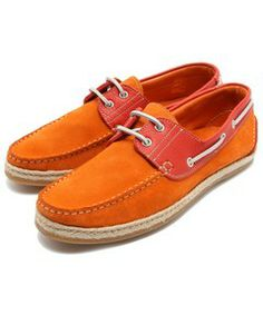 ROSE BUD COUPLES MENS / (ADOLF CARLI) 6171 TWO TONE DECK SHOES(モカシン)