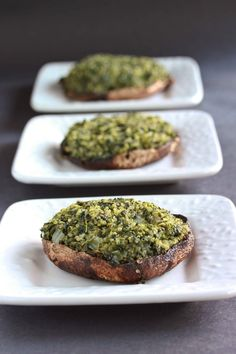 Quinoa and Spinach Stuffed Portobello Mushrooms - Overtime Cook
