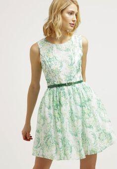 Zalando robe de soiree vert