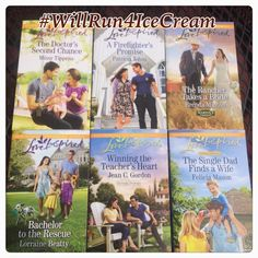 Will Run For Ice Cream: Love Inspired Series Review and Giveaway