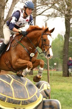 Boyd Martin-- Yummy Australian, came to America and was the #1 USEA rider. Went to a clinic of his in 2010, he's awesome