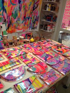 Tiff Manuell's design studio! #lamercollections