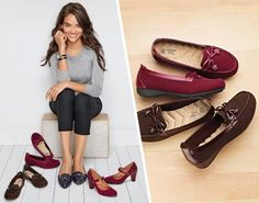 Avon Rep Tip: Because a girl can never have too many shoes… Here are a few we're coveting this season. Shop these fall finds and more