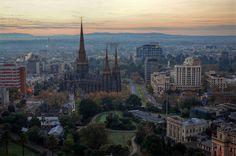 Beautiful Melbourne.