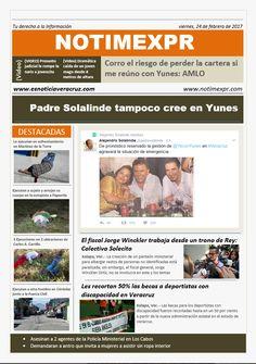 La Información más destacada con NOTIMEXPR Viernes 24 de Febrero - http://www.esnoticiaveracruz.com/la-informacion-mas-destacada-con-notimexpr-viernes-24-de-febrero/