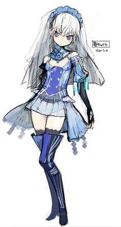 Blue Chaika