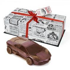 #Chocolate #car #Lamborghini #Reventon #angelinachocolate