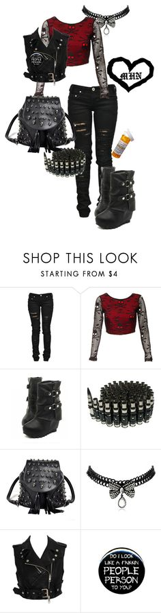 """""""Calling In Silence- Chelsea Grin"""" by bipolarbabe ❤ liked on Polyvore featuring Denim of Virtue, Betsey Johnson, Burberry, ELSE and comeonangelsdontyoucry"""