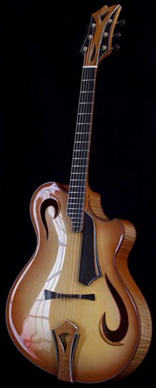 Grimes Guitars Pescatore (40th Anniversary variation)... like the tailpiece