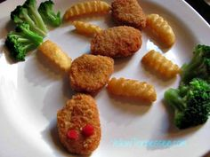 Caterpillar Nuggets #NuggetSmiles