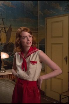 Emma Stone in upcoming Woody Allen film Magic in the Moonlight