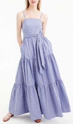 Cute tiered maxi dress