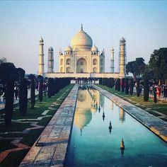 #mytajmemory A tick on the bucket list  #tajmahal #lifegoal #bucketlist #onceinalifetime #india #agra #_soi #wanderlust #travelbug #sightseeing #touristmode #travelstoke #instatravel by sarah_braeu #IncredibleIndia #tajmahal
