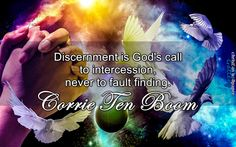 Discernment Is Gods Call To Intercession