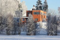 Villa Riise, Storhamargata 126, 2315 Hamar, Norway Norway, Cities, Villa, Cabin, House Styles, Outdoor, Home Decor, Pictures, Outdoors