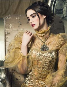 ♥ Romance of the Maiden ♥ couture gowns worthy of a fairytale - contemplation