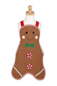 Another great find on Gingerbread Man Apron by Design Imports Christmas Aprons, Christmas Sewing, Christmas Gingerbread, Christmas Costumes, Christmas Stockings, Christmas Ornaments, Gingerbread Decorations, Christmas Quilting, Kids Apron