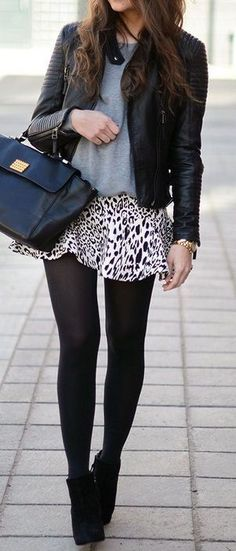 Polka Dots & Moto ♥ SO cUte!