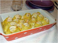 Un tavolo per quattro > Cappellacci di crêpes con carciofi e gamberi al profumo d'arancia