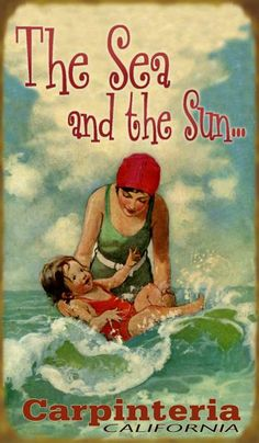 n Mermaids, Surfing, Beach-Related Signs - Vintage Beach Signs by350 x 600 | 38.5KB | www.ezpics.net