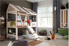 детский домик кровать