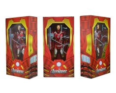 The Avengers 1/4 Action Figure Iron Man - The Movie Store
