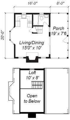 16x24 Blueprint For Cabin Joy Studio Design Gallery
