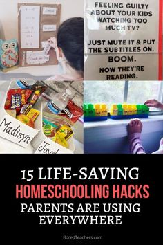 15 Brilliant Homeschooling Hacks Parents Are Using Everywhere Word Web, Coloring Canvas, Magnetic Letters, Day Planners, Teacher Hacks, Preserve, Being Used, Fun Activities