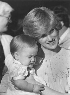 Princess Diana with Wills in Australia