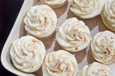 Christmas: Eggnog Cupcakes