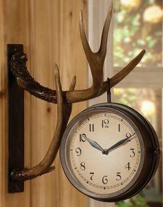 "Crestview Deer Park Clock, Clocks, Home & Cabin Decor, Home & Cabin : Cabela's - ""wink"" ;)"