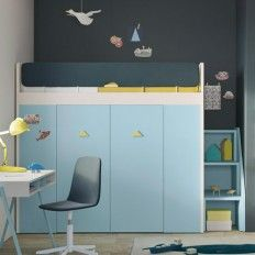 Funky Bunk Beds for Kids Find the best kids online. Our store offers a wide variety of aesthetically designed kid's bedroom furniture that includes kid's bedroom and for Kids. Modern Kids Bedroom, Childrens Bedroom Furniture, Modern Bunk Beds, Furniture Decor, Furniture Online, Kids Bunk Beds, Storage, Kids Rooms, Interior