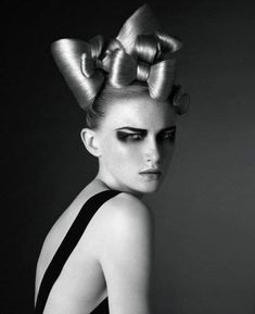 Institute magazine editorial hair