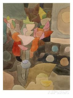 Still Life with Gladioli; Gladiolen Still Leben Giclee Print by Paul Klee at AllPosters.com